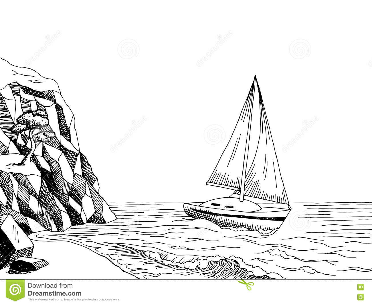 Sea Clipart Black And White (94+ images in Collection) Page 1.
