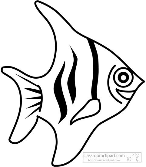 sea creature clipart black and white - Clipground