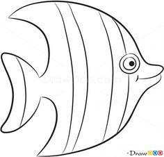 Sea creatures clipart black and white 2 » Clipart Portal.