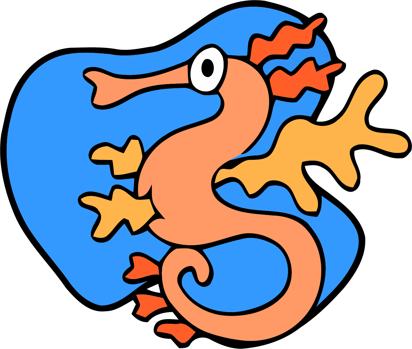 Sea Dragon Clipart Png.