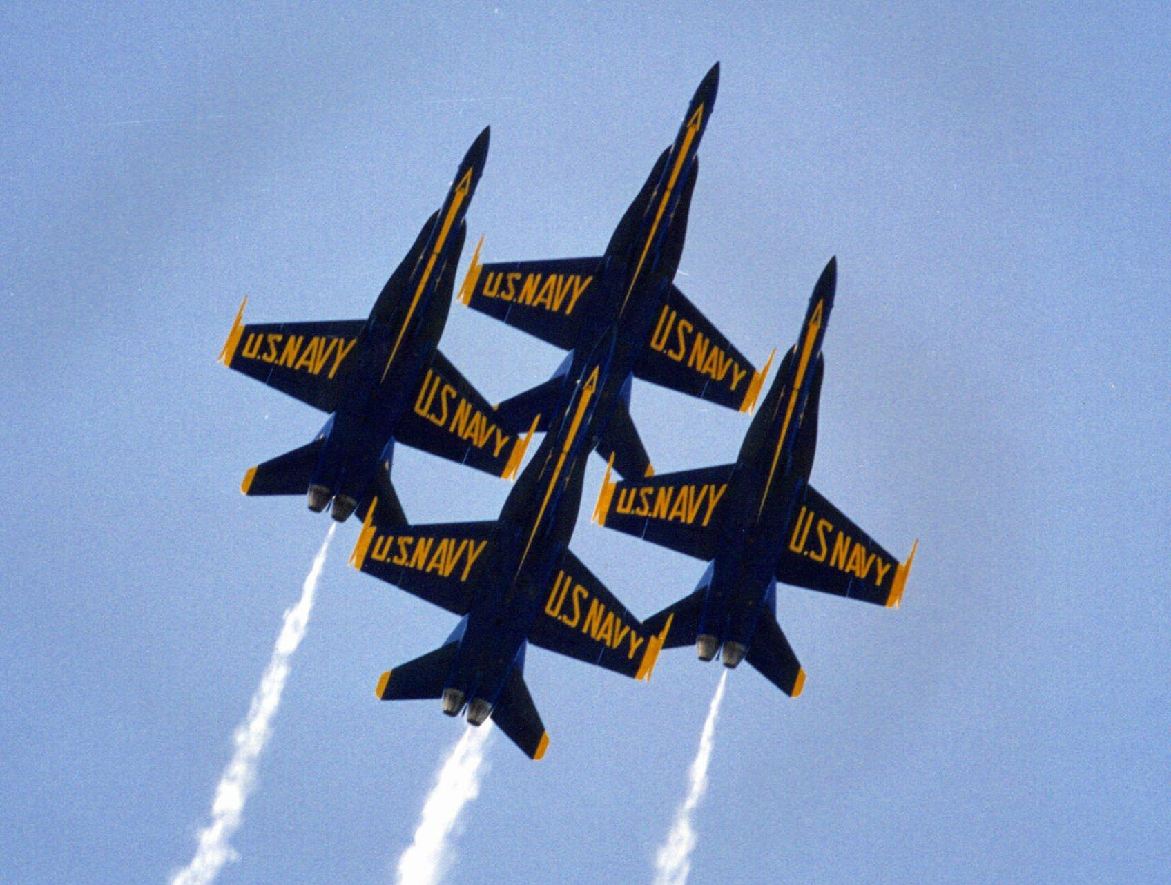 Navy's Blue Angels Returning to Seattle Seafair.
