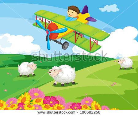 Flying Sheep Stockfoto's, rechtenvrije afbeeldingen en vectoren.