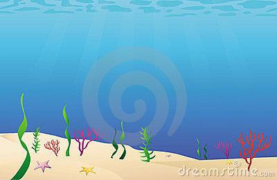 Under Sea Floor Clipart.