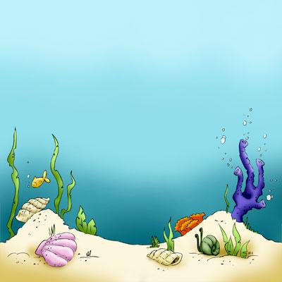 Sandy Sea Floor in Digital images.