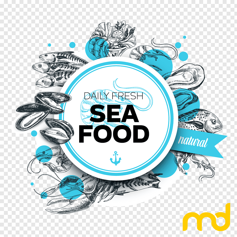 Restaurant Logo, Seafood, Lobster, Nextgen Mall, Fish.