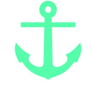 Heart Clipart Sea Green.