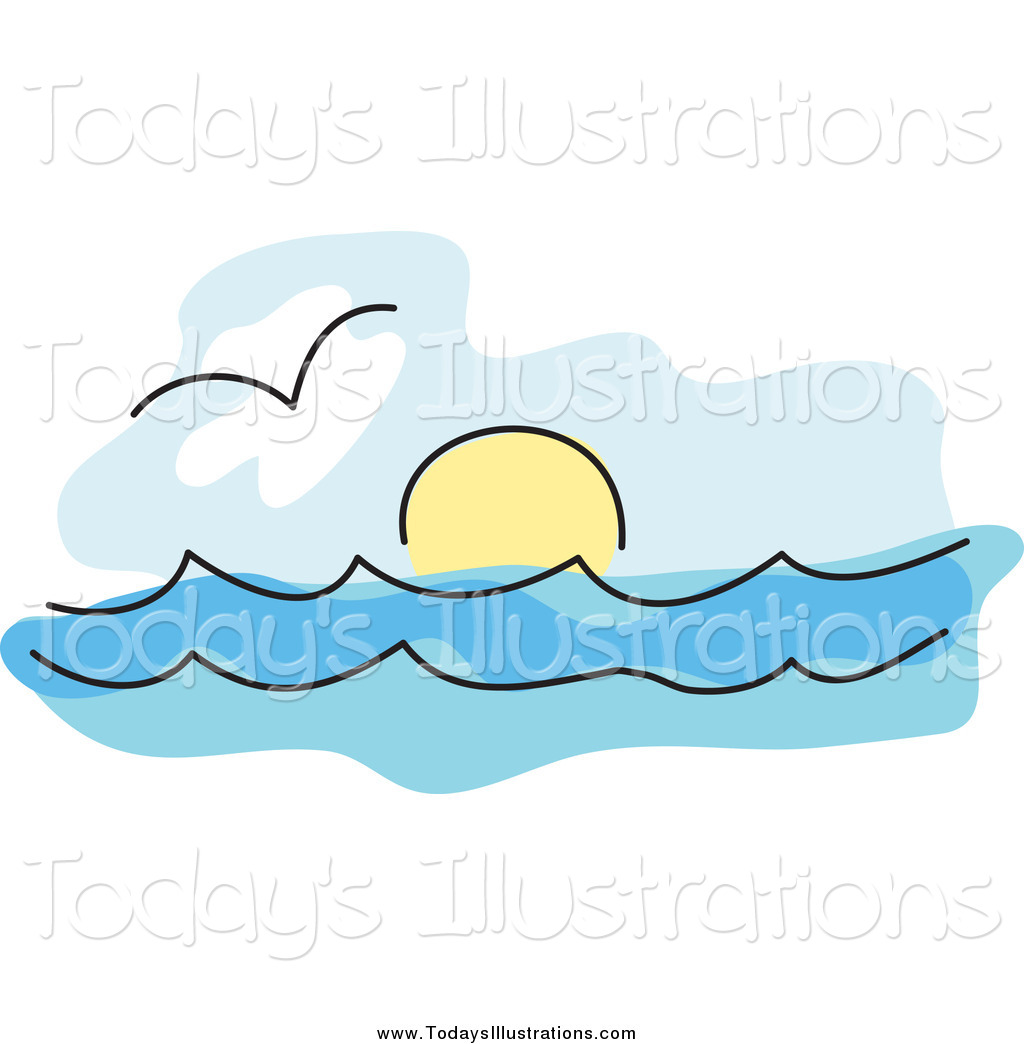 Sea And Sun Clipart.