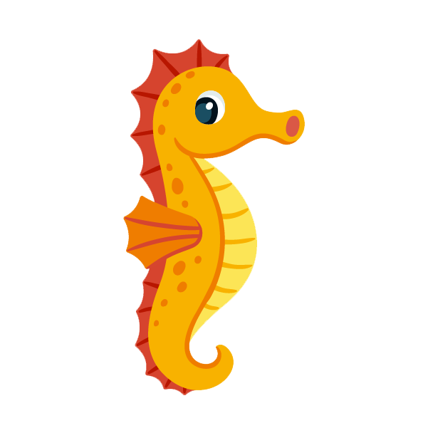 Seahorse PNG images free download.