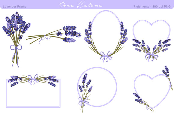 Lavender Flowers Drawing.