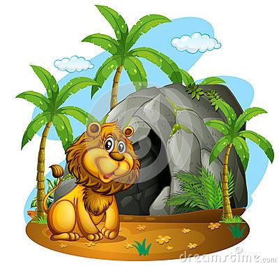 Cave Lion ,Dino Island, Praia A Mare, CS, Italy Stock Photo.
