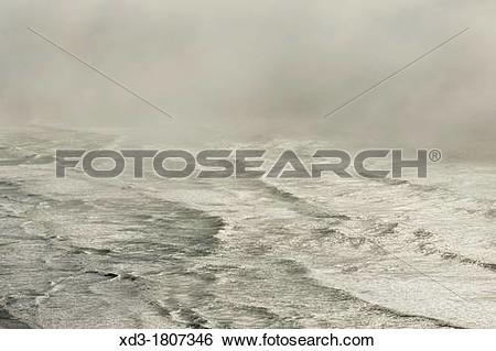Stock Images of surf near Sea Lion Caves, Oregon Coast, USA xd3.