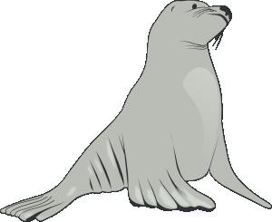 Sea Lion Clip Art at Clker.com.