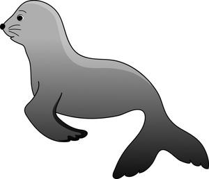 sea lion clip art.