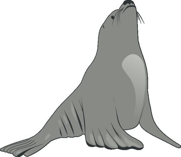 Sea Lion Clip Art Free.