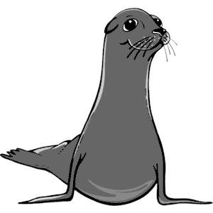 Sea Lion clipart, cliparts of Sea Lion free download (wmf.