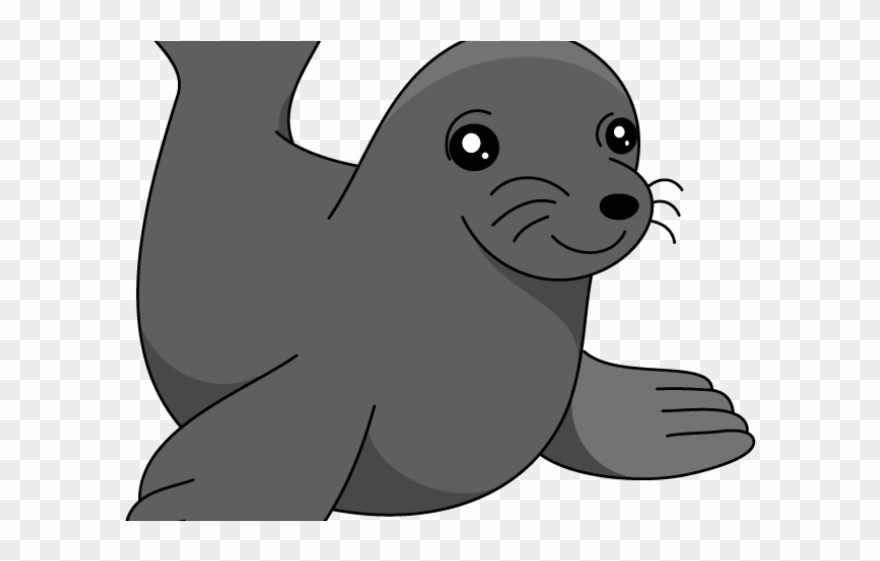 Sea Lion Clipart Transparent.