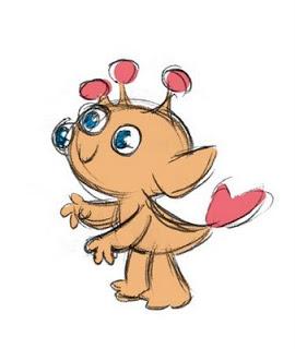 Sea Monkey Geek . com: Adorable Knit Plush Sea Monkey.