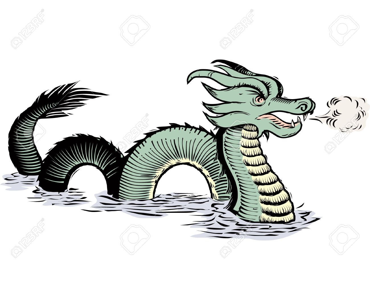Sea monsters clipart 4 » Clipart Station.
