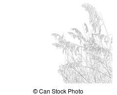 Sea Oats Clipart.