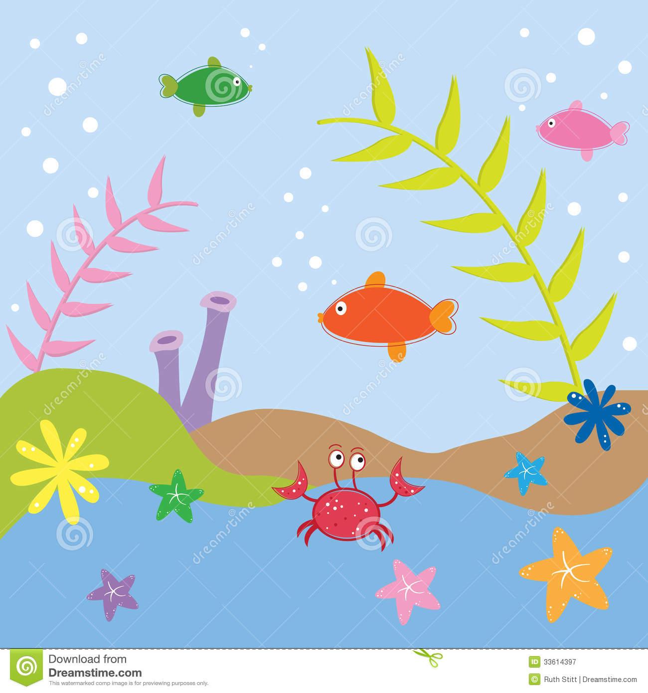 Under The Sea Fish Clipart.