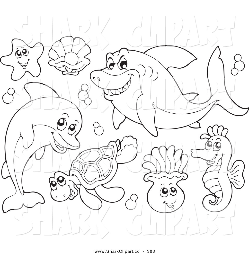 Sea clipart color.