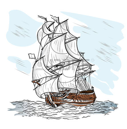1,168 Schooner Stock Vector Illustration And Royalty Free Schooner.