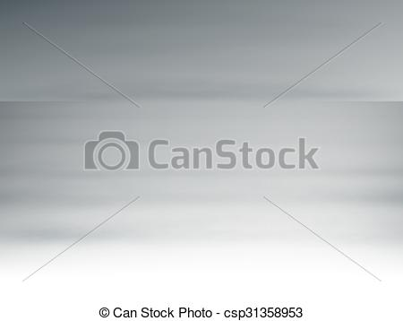 Clipart Vector of Sea in the fog.