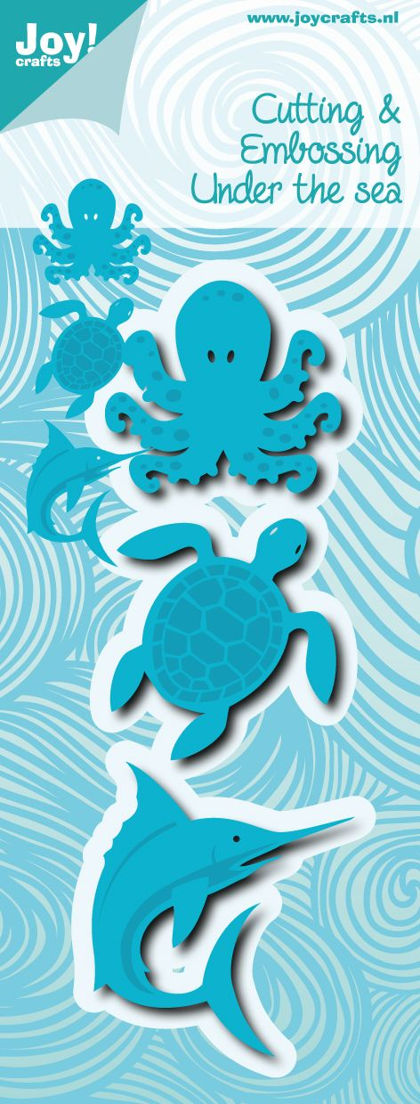 Joy Crafts Cutting & Embossing die Under the Sea.