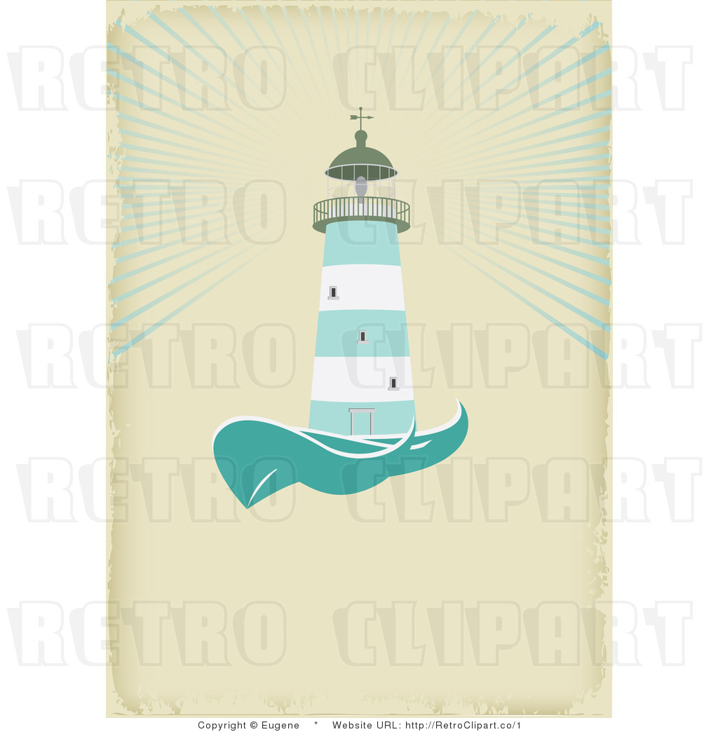 Royalty Free Vector Retro Illustration of a Green and White.