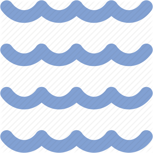 Lake, moisture, river, sea, tide, water, water waves icon.