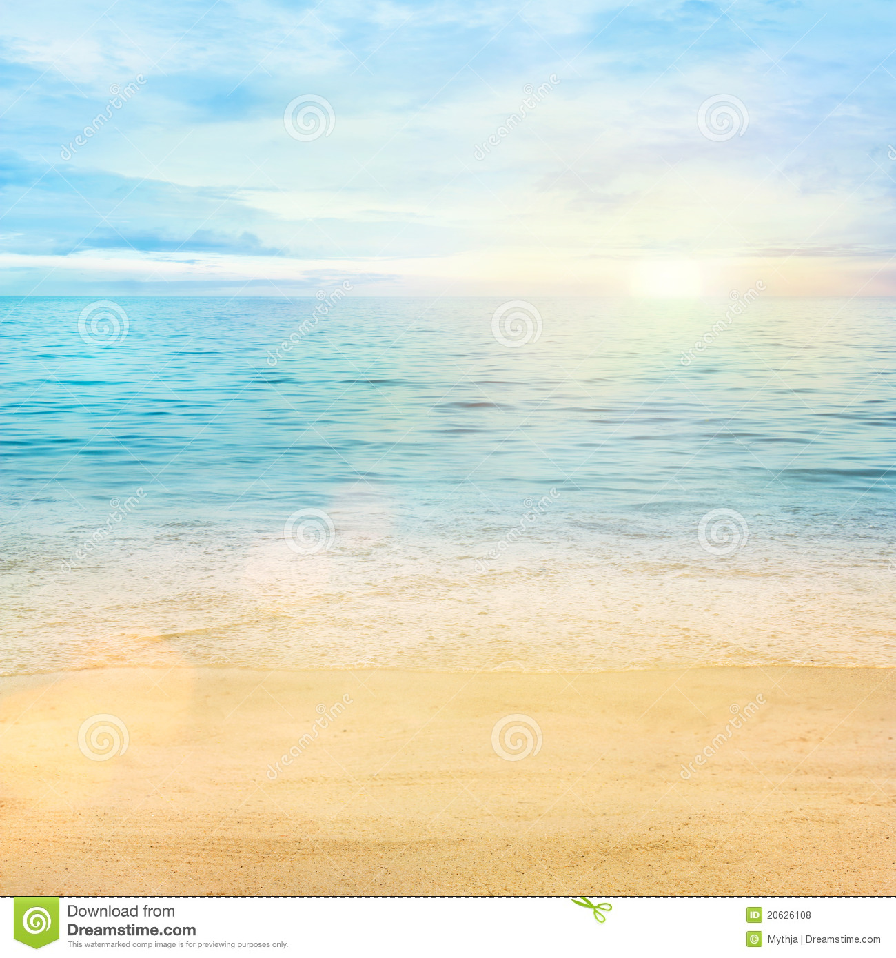 Sand Beach In Summer Sky Background: Sea Of Sand Clipart 20 Free Cliparts