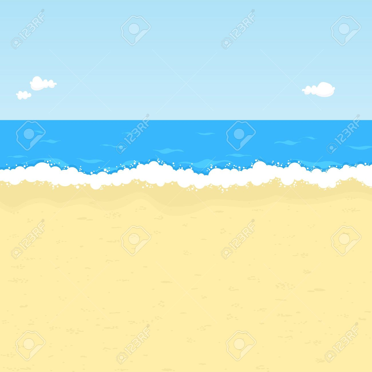 sea shore: Seaside.