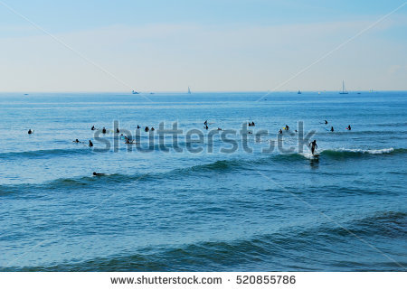 Shonan Beach Stock Photos, Royalty.