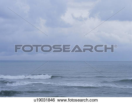 Stock Images of The Sea Of Japan Of Winter u19031846.