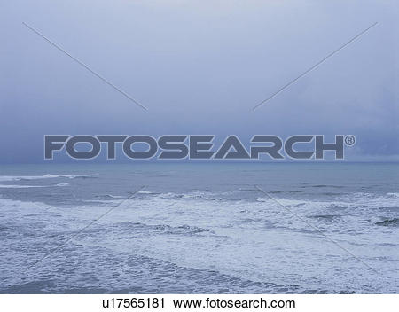 Stock Photography of The Sea Of Japan Of Winter u17565181.