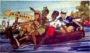 Sea Scout Postcards.