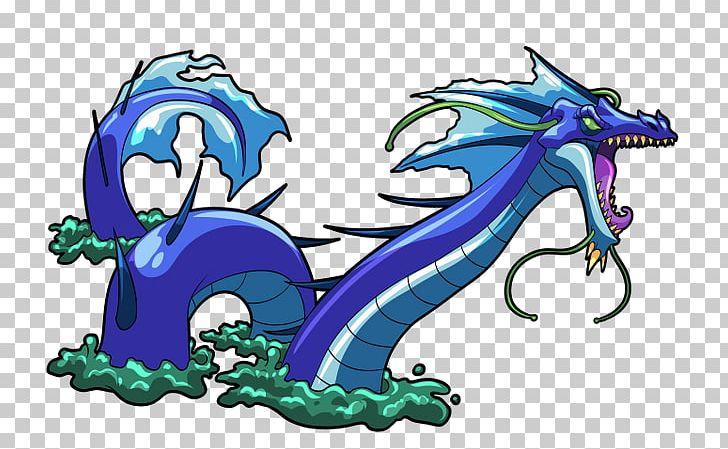 Dragon Sea Monster Legendary Creature Sea Serpent PNG.