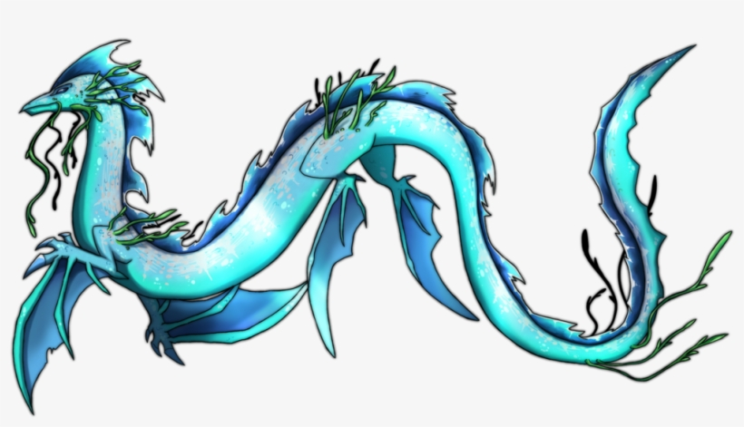Sea Serpent Dragon Commission By Eternity.