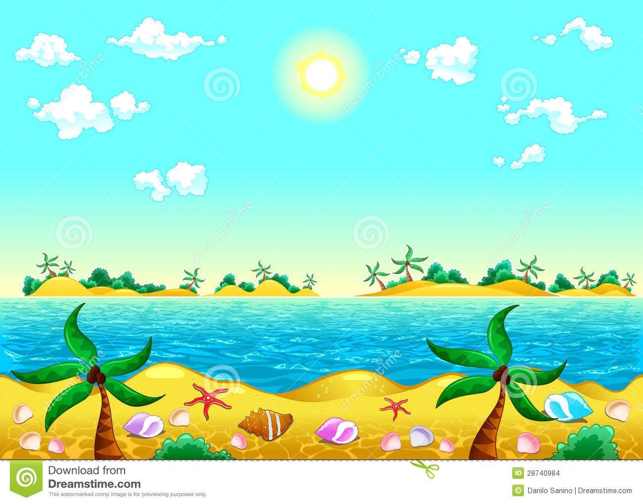 sea shore clipart