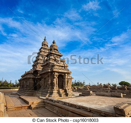Stock Photography of Famous Tamil Nadu landmark.