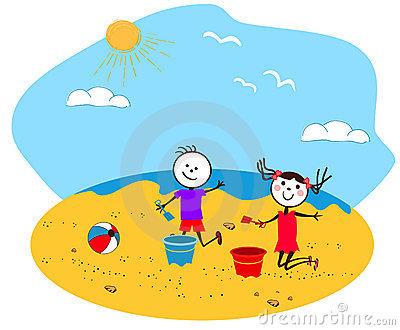 Seaside clipart free.