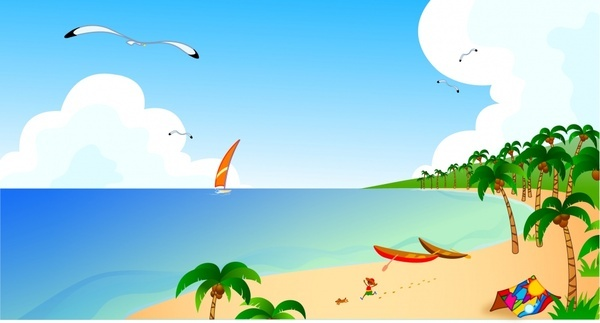 Seaside free vector download (70 Free vector) for commercial use.