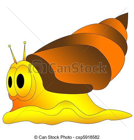 Clip Art of seashell, sea, shell, slime, space, snail, wet, clam.