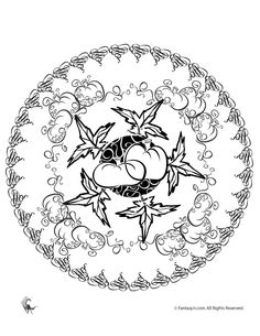 Puffer Fish, : Sea Squab Puffer Fish Coloring Page.