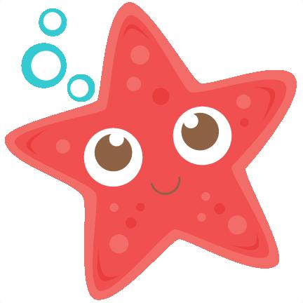 Sea star clipart free.