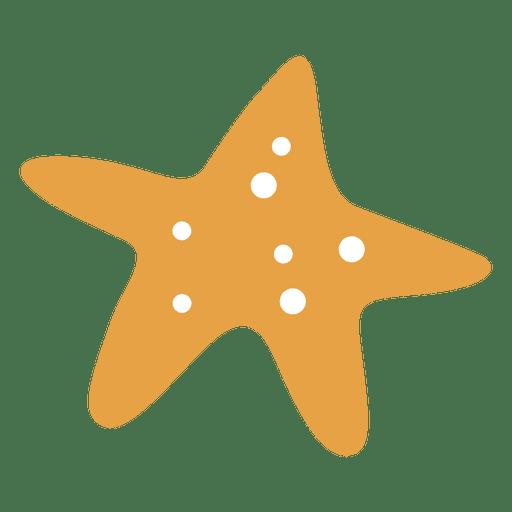 Sea star fish.