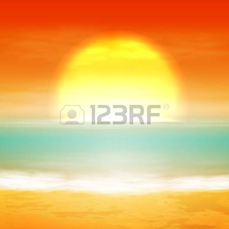 26,850 Sea Sunset Stock Vector Illustration And Royalty Free Sea.