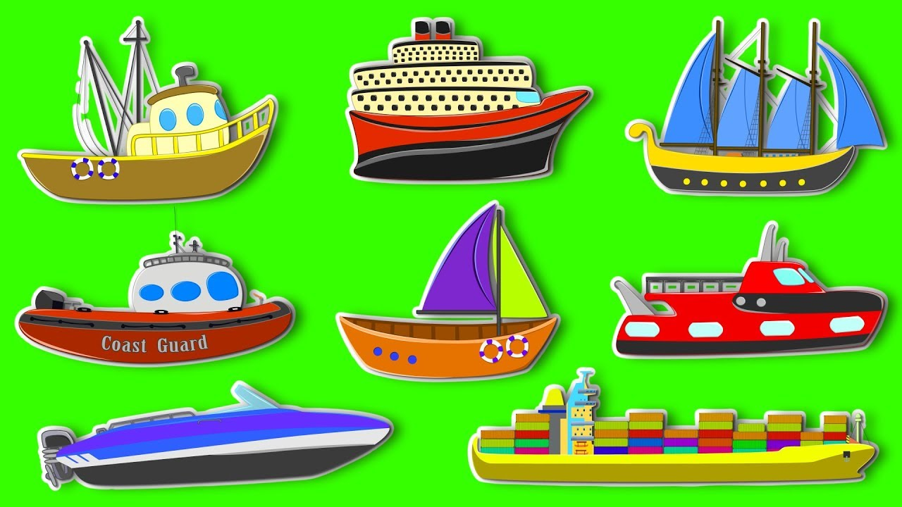 Sea Vehicles For Kids.