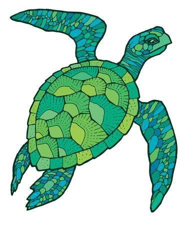 Sea turtle clipart 6 » Clipart Portal.