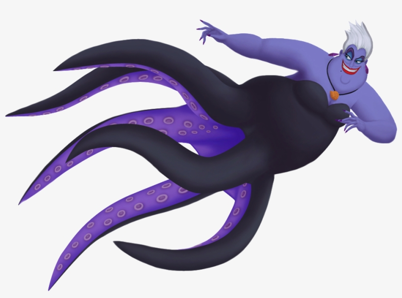 Sea Witch Ursula.